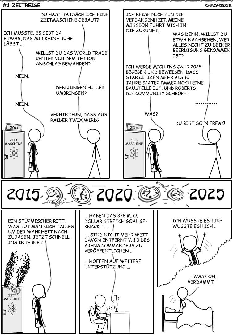 1 SC-Comic - Zeitreise
