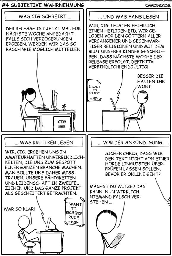 4 SC-Comic - Subjektive Wahrnehmung