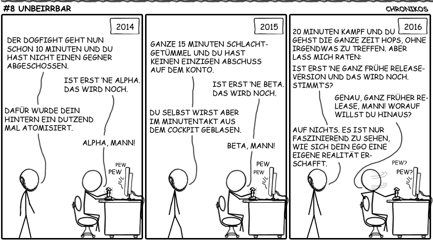8 SC-Comic - Unbeirrbar