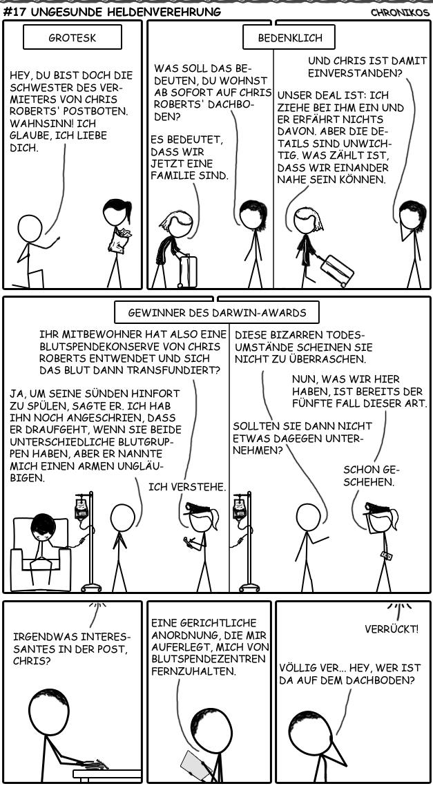 17 SC-Comic - Ungesunde Heldenverehrung