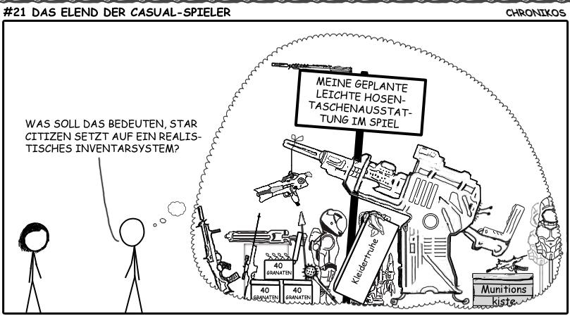 21 SC-Comic - Das Elend der Casual-Spieler