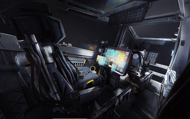 Das überarbeitete Cockpit der Cutlass