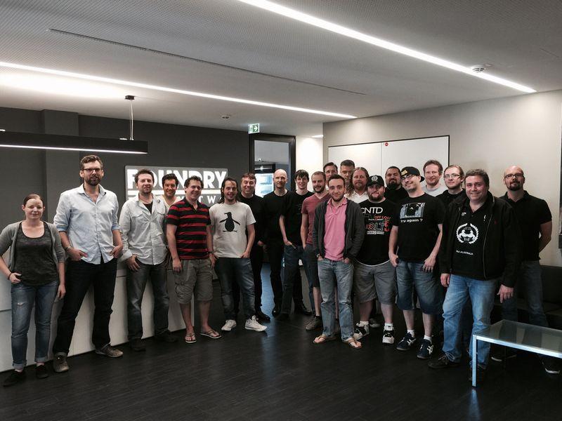 Das Team von Foundry 42 Frankfurt