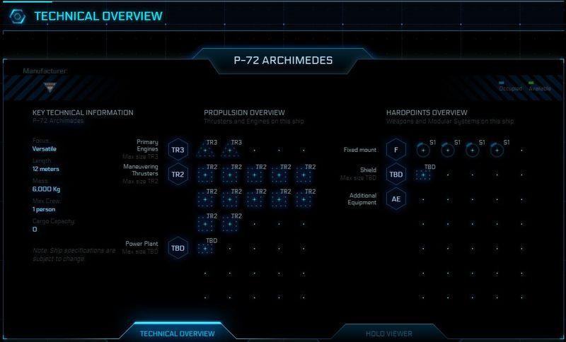 Technische Übersicht Archimedes