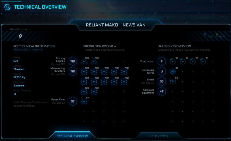 Technical Overview Reliant  Mako - News Van
