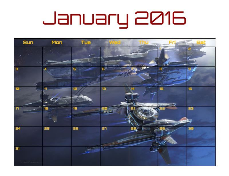 calendario star citizen