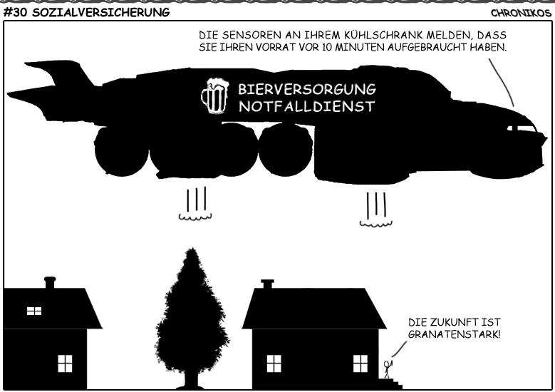 SC-Comic - Sozialversicherung