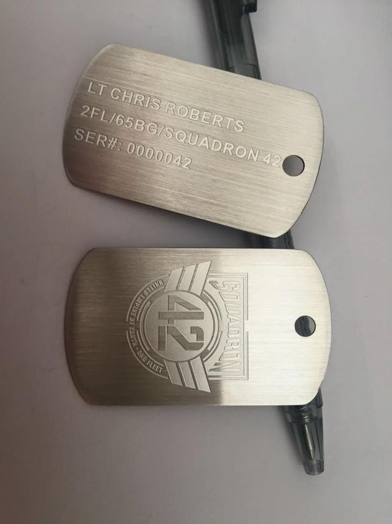 SQ41 Dog Tags